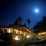 Joglo under The Super Moon